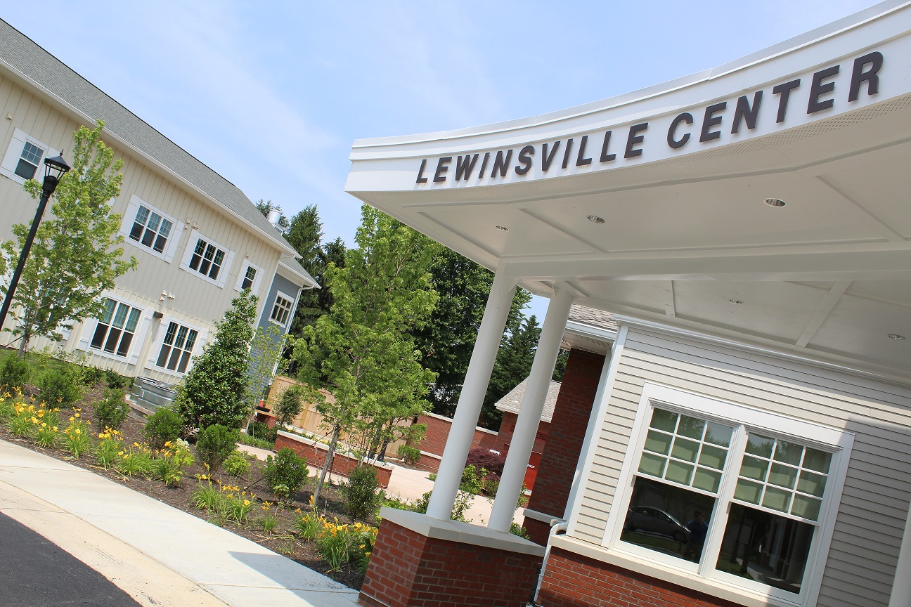 Front entrance of Lewinsville Adult Day Health Care