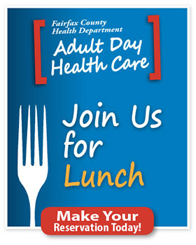 Join Adult Day Health Care for lunch