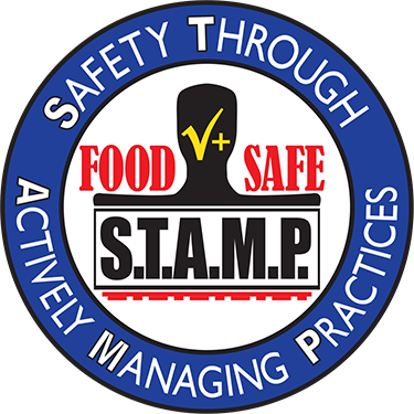 Safety Through Actively Managing Practices food safe stamp