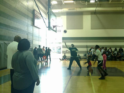 Northern Virginia Clergy Council for the Prevention of HIV/AIDS' HOOPS IN VIRGINIA basketball tournament