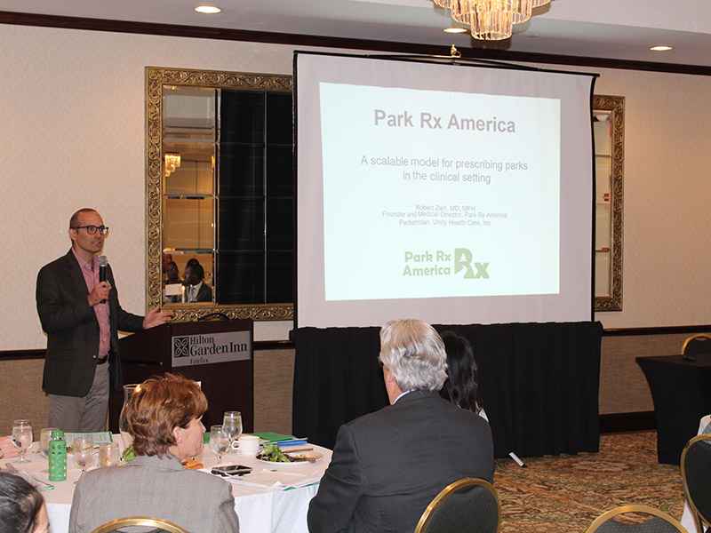 Rx for Life Event Highlights the Importance of Parks and Food