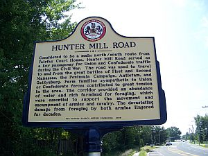 Fairfax County History Commmission Historical Roadside Markers