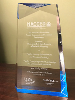 2019 NACCED Award of Excellence for Affordable Housing