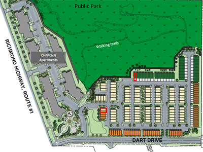 North Hill Site Plan