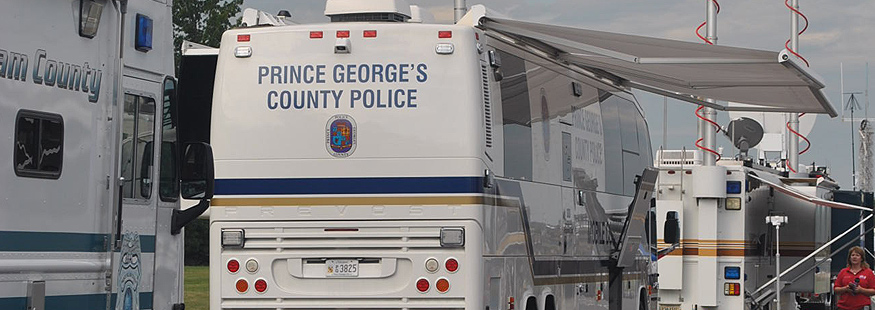 Prince George's County Police Trailer