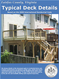 Decks In Fairfax County Land Development Services