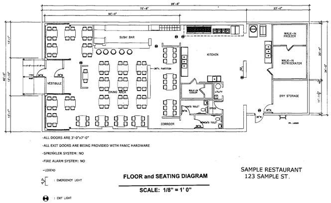 Fire exit floor plan library floor plan medical student for Occupant emergency plan template