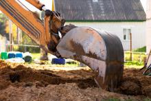 commercial equipment digging