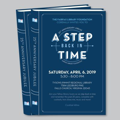 Fairfax Library Foundation 25th Anniversary Jubilee: A Step