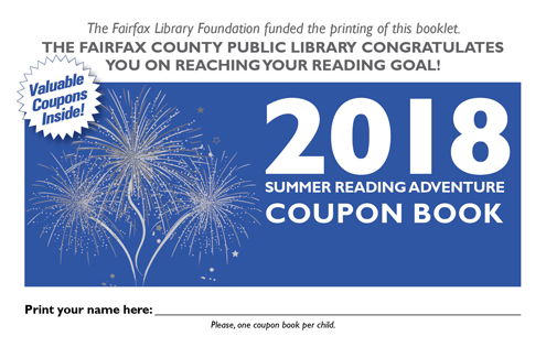 Summer reading adventure 2018 library coupon booklet offers free and discounted prizes fandeluxe Choice Image