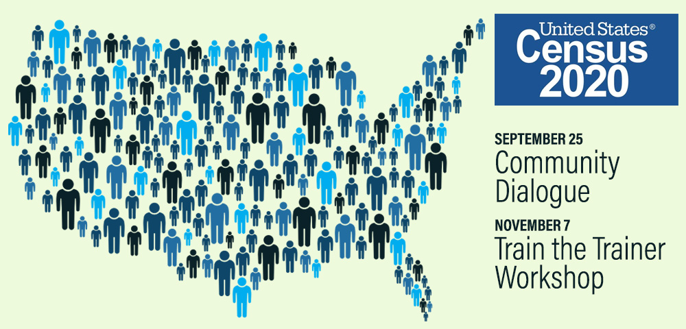 We need your help! Fairfax County Census 2020 Complete Count Committee.