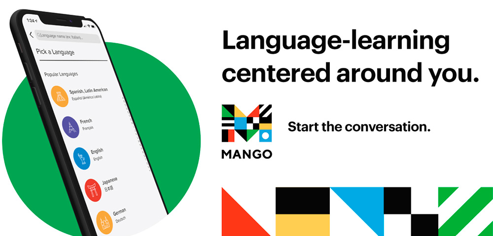 Mango prepares learners for realistic conversations and communication in over70 world languages.