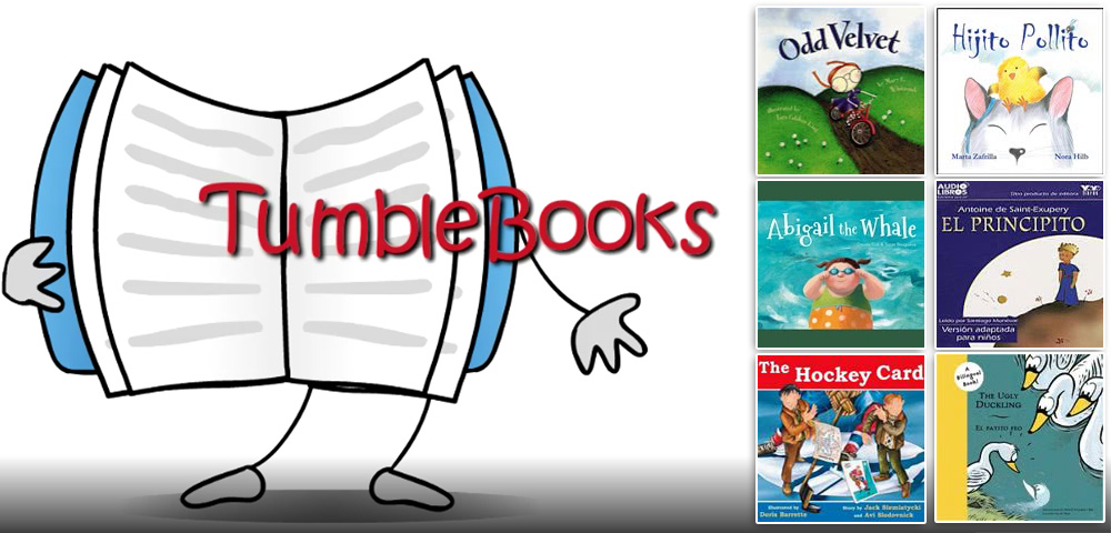 Books for kids in English, Spanish, and French. Includes eBooks, eAudiobooks, and video Read Alongs.