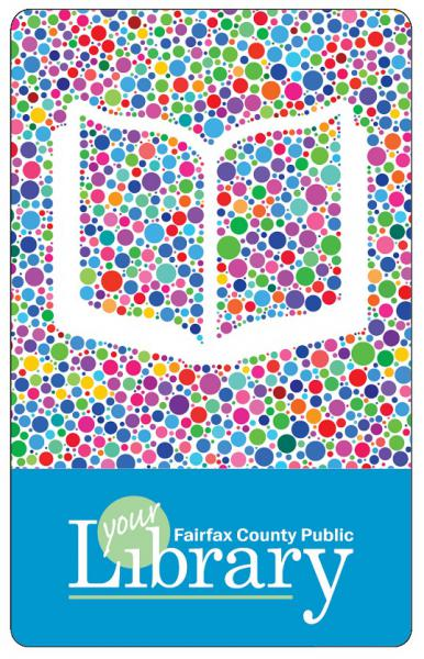 library card for Fairfax County Public Library branches