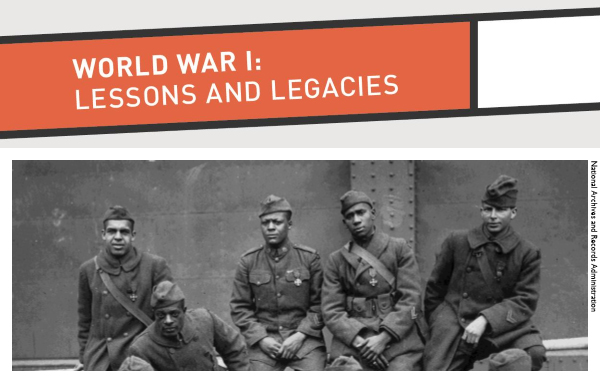 World War I Lessons and Legacies SI historical image