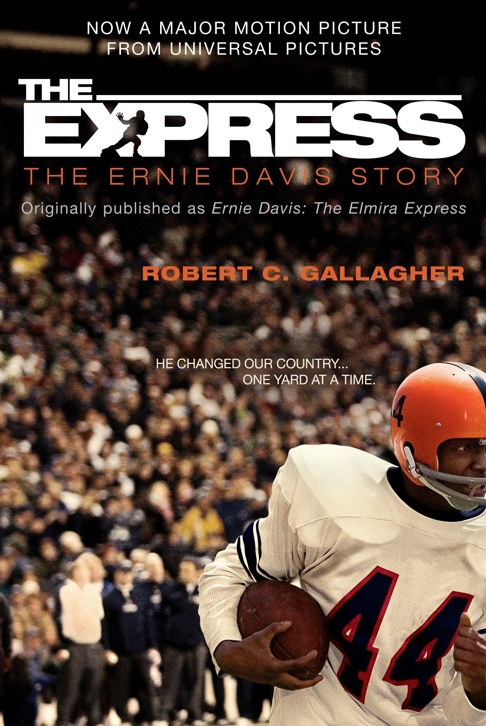The Express: The Ernie Davis Story book cover