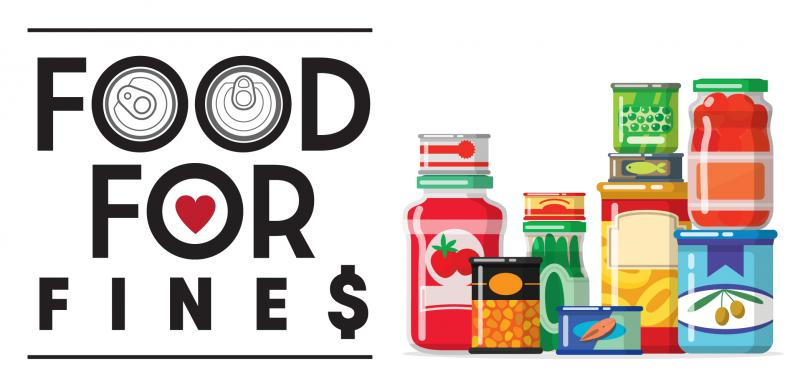 Food for Fines 2020 Banner
