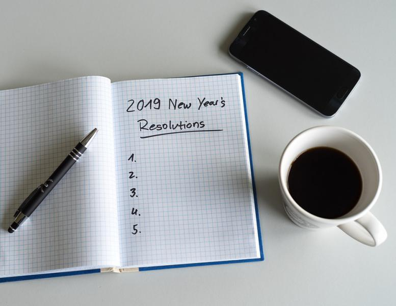 resolutions notebook