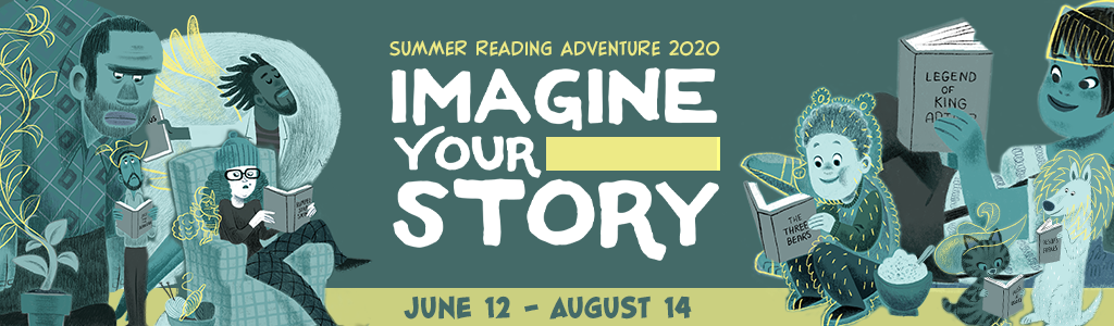 Summer Reading Adventure banner.