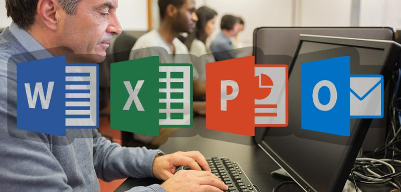 basic internet and microsoft office tutoring library