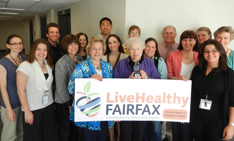 Group of partners involved with the Partnership for a Healthier Fairfax