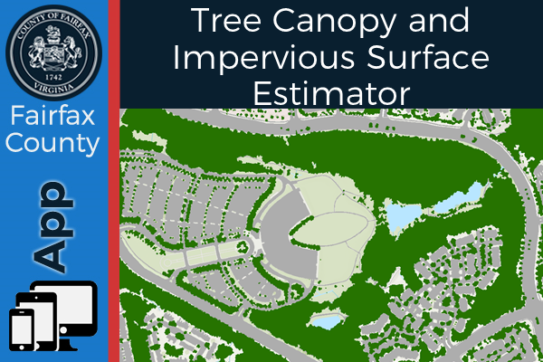 Tree Canopy and Impervious Surface Estimator app