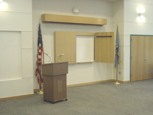 Main Community Room at the Mason Governmental Center