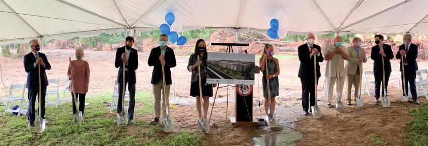 North Hill Groundbreaking