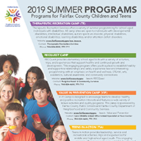 2019 Summer Youth Programs