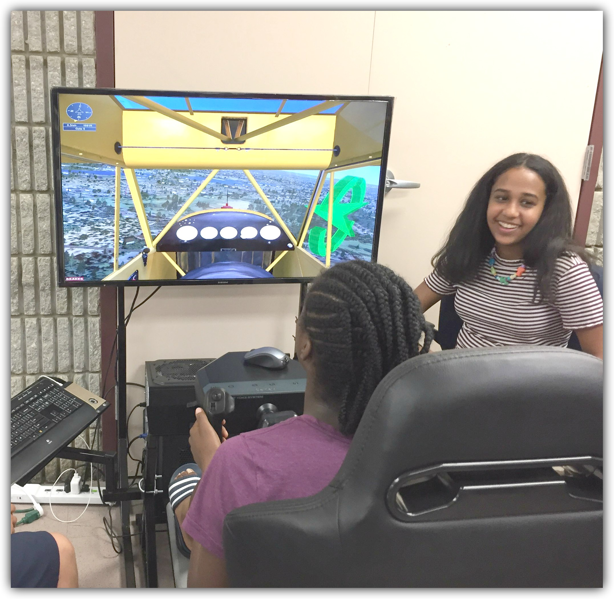 Aviation Camp Simulator