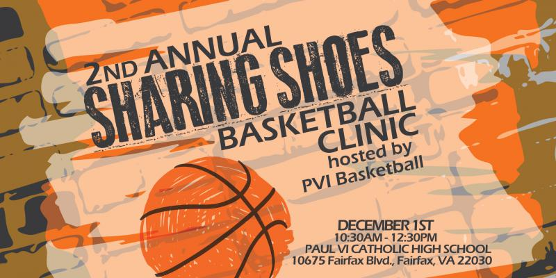 Sharing Shoes Basketball Clinic