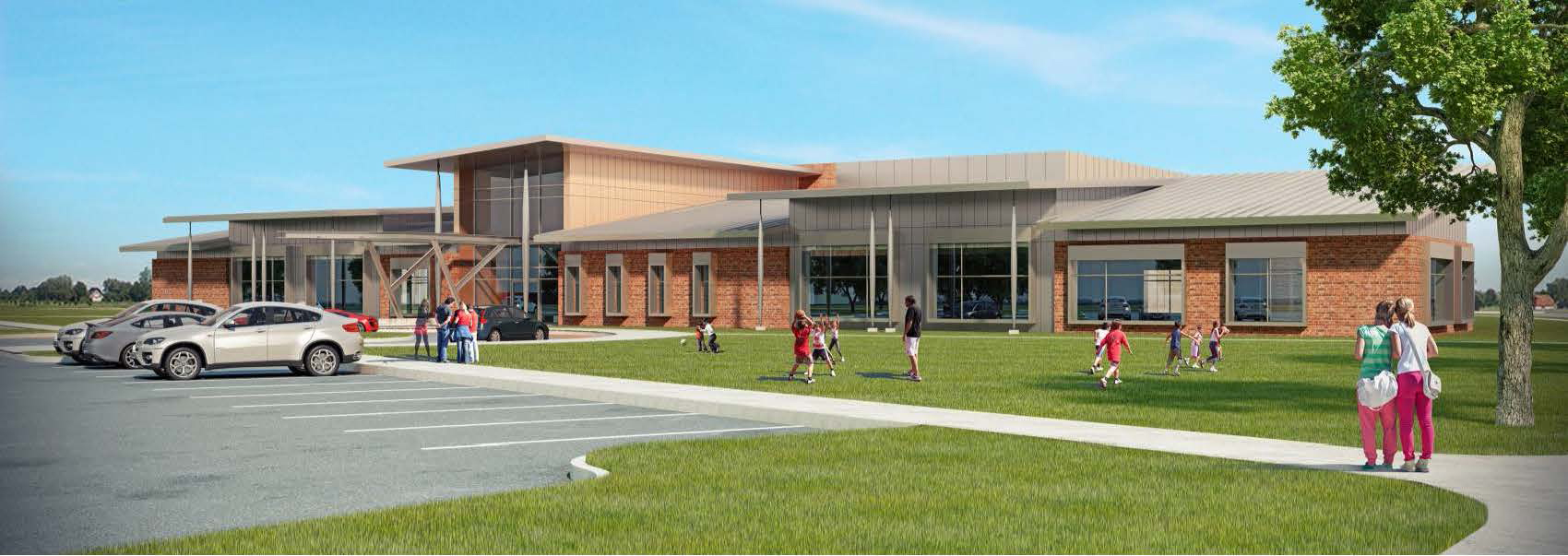 Sully Community Center Rendering
