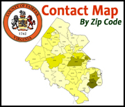 Contact Map (by zip code)