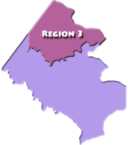 Human Services Region 3 Map