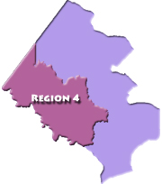 Human Services Region 4 Map