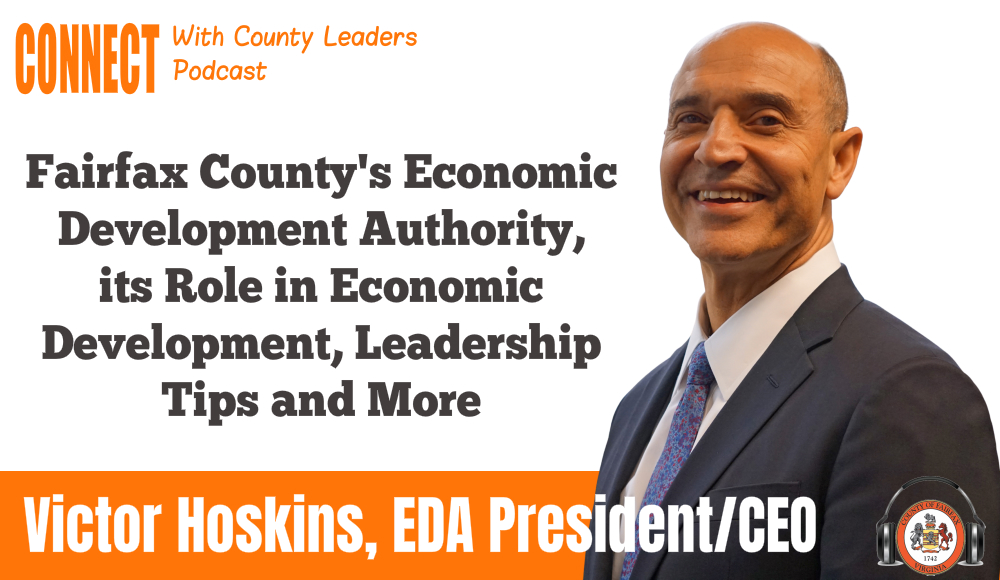 graphic of EDA Chief Victor Hoskins