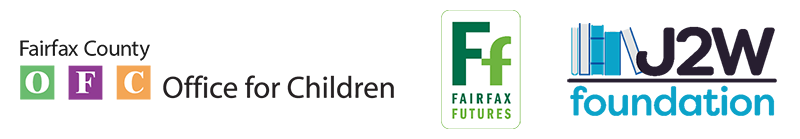 Logos for OFC, Fairfax Futures and J2W foundation