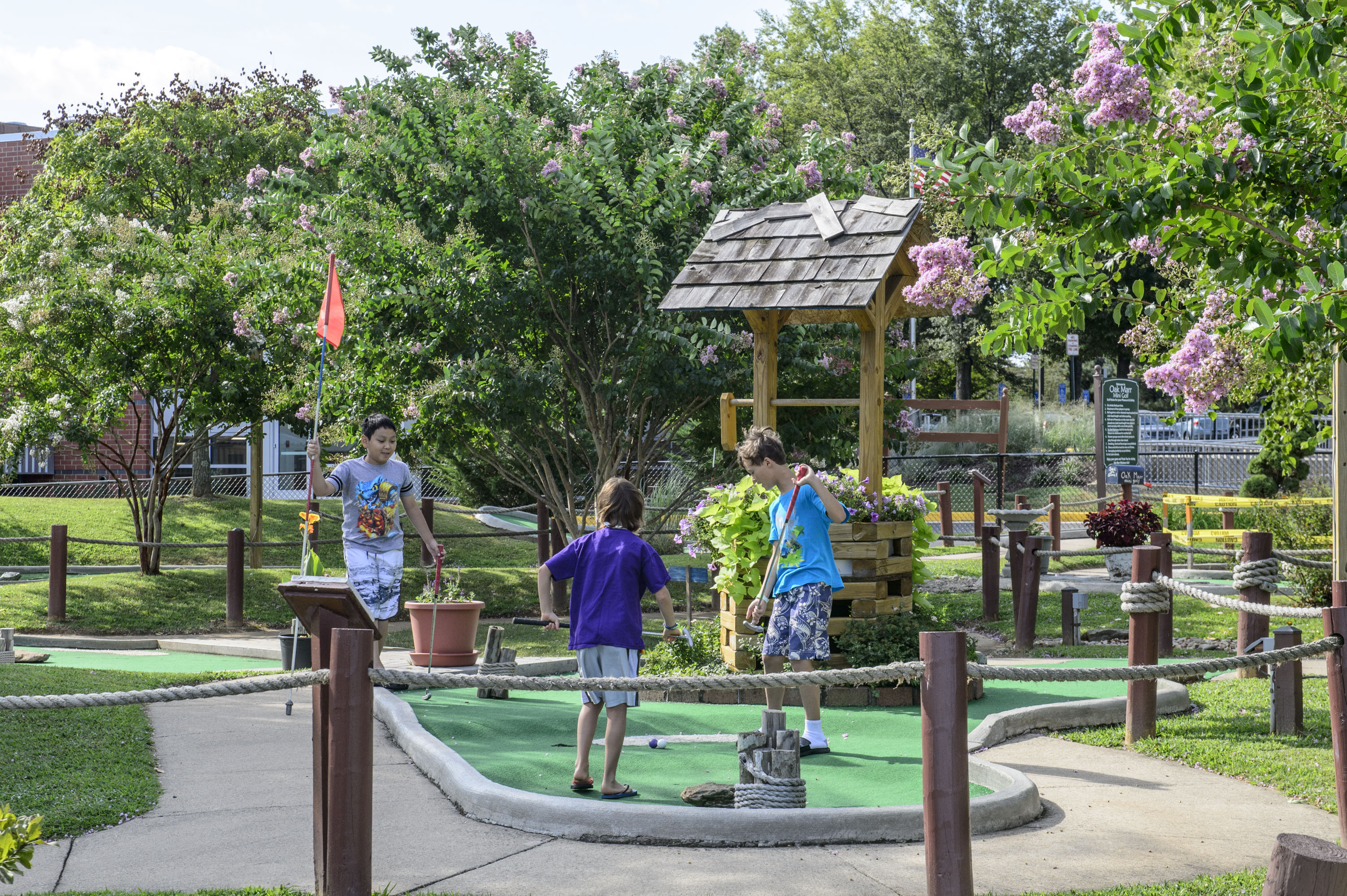 Oak Marr Mini Golf Course