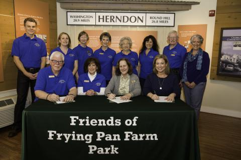 FCPA Signs MOU with Friends of Frying Pan