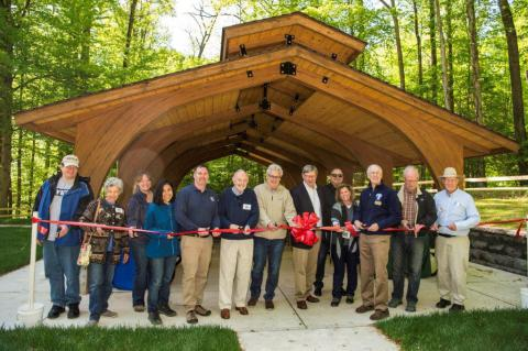 Riverbend Park Environmental Education and Picnic Shelter Opens