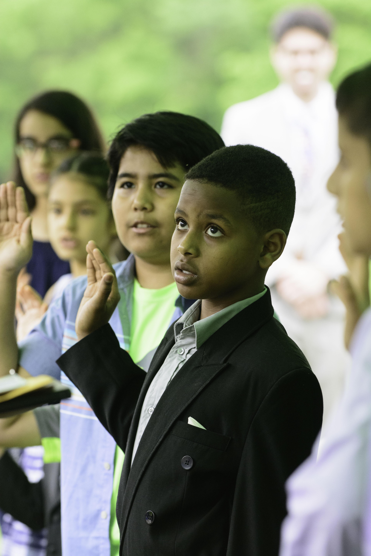Sully Historic Site Hosts Children's Naturalization Ceremony