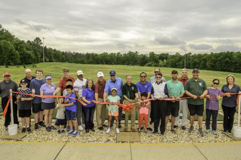 Improved Oak Marr Driving Range Officially Cuts the Ribbon