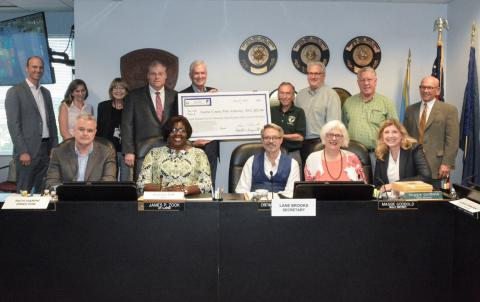 Park Foundation Presents More Than $800K to Park Authority