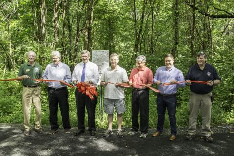 Sugarland Run Trail Improvements Completed