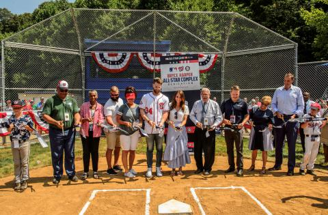 Bryce Harper All-Star Complex Opened at Fred Crabtree Park