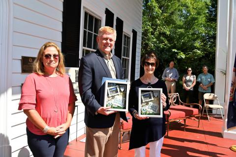 Supervisors Honored for Commitment to Historic Preservation