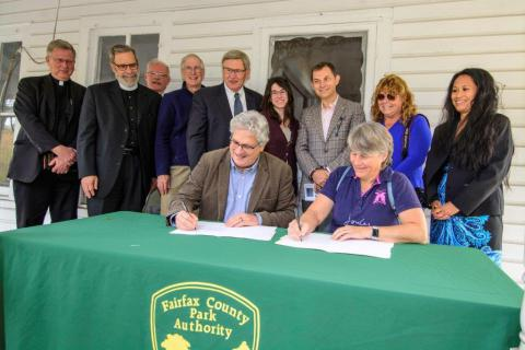 Resident Curator Signs Lease for Historic Turner Farmhouse