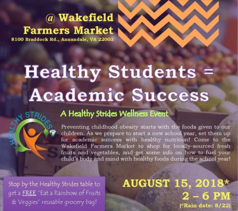 Healthy Students = Academic Success