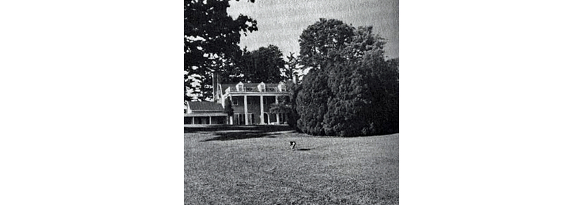Oak Hill house around 1940