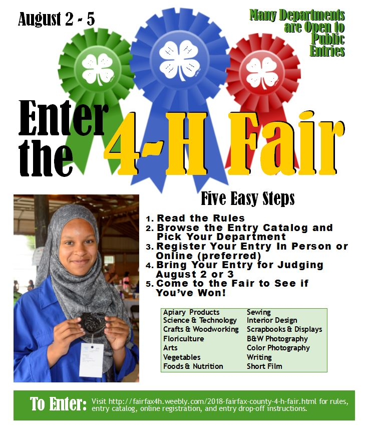 Enter the 4-H Fair